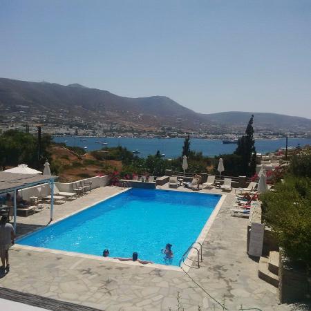 Akrotiri Hotel : Piscine de l'hôtel