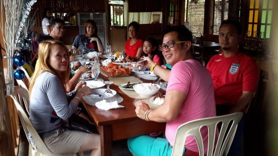 Residencia de Salvacion: sumptous welcome lunch