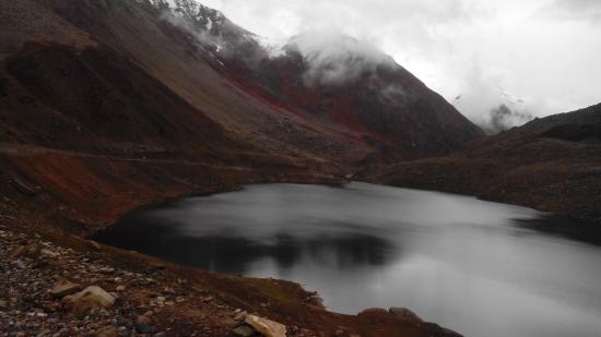 Kaghan, Pakistan: Lulusar Lake - Started Partially Freezing