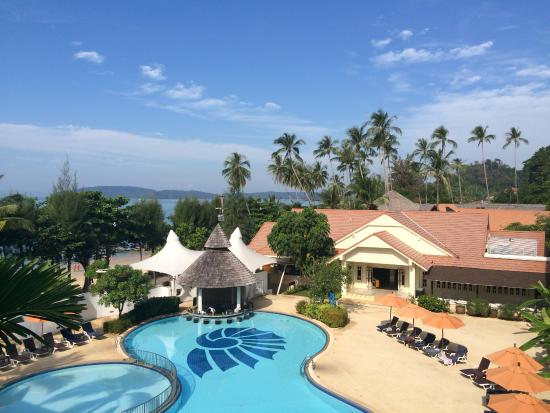 Aonang Villa Resort: View from Superior Seaview room