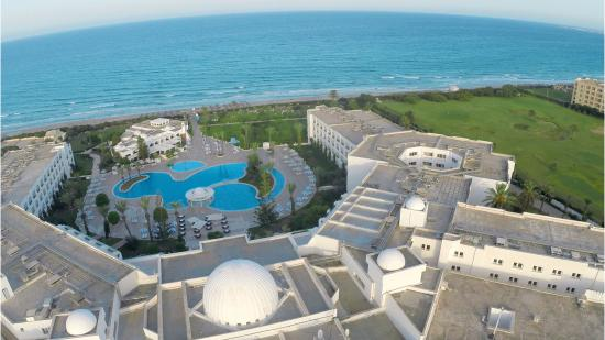 Mahdia palace thalasso updated 2017 prices reviews photos tunisia hotel tripadvisor - Rectangle pool aerial view ...