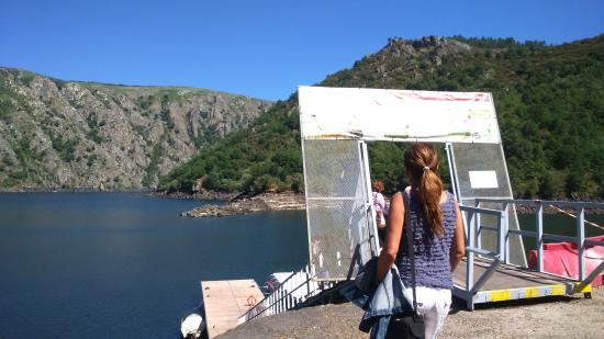 Ourense Province, Spanje: Embarcadero 1.