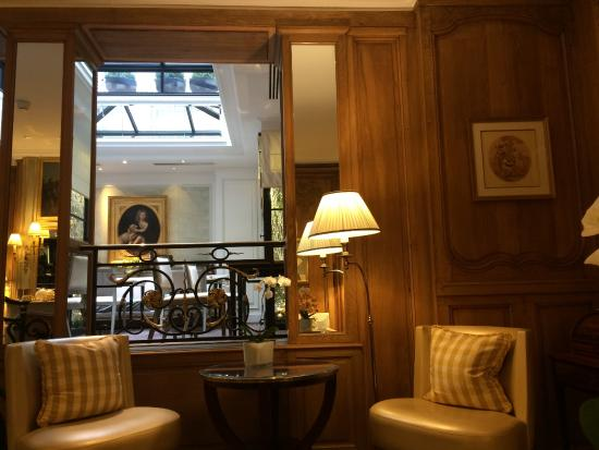 Entry Foyer_part of - Picture of Hotel San Regis, Paris - TripAdvisor