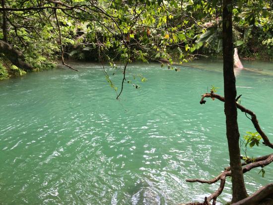 Prema Shanti Yoga & Meditation Retreat: Blue Hole swimming area