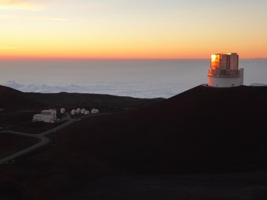 Mauna Kea Summit Adventures: At sunset