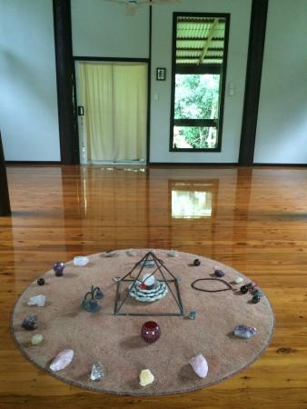 Diwan, Australia: Temple meditation circe