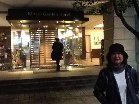 Near The Hotel Picture Of Mitsui Garden Hotel Shiodome