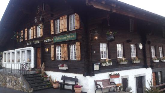 Gasthaus Sternen: Aeschi b. Spiez - Sternen - said to be the oldest guesthouse in the Bernese mountains