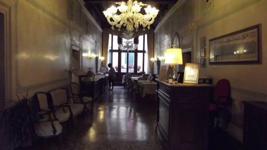 Locanda Ca' Amadi: Ample dining