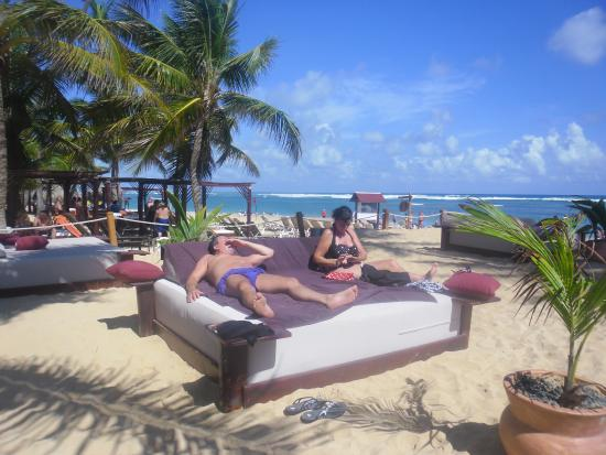 Dreams Punta Cana Resort Spa So Relaxing King Size Beds Next To Beach