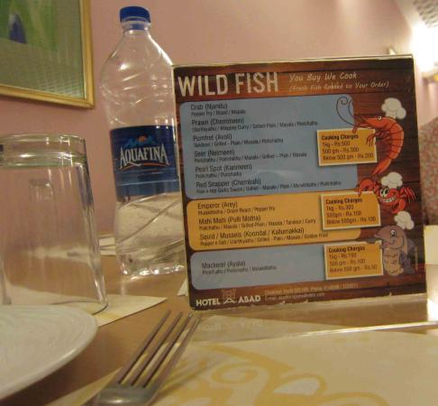 Hotel Abad Chullickal: You Buy We Cook