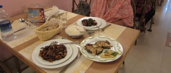 Hotel Abad Chullickal : Nos achats cuisinés
