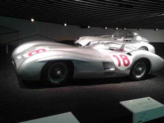 Racing Car Picture Of Mercedes Benz Museum Stuttgart