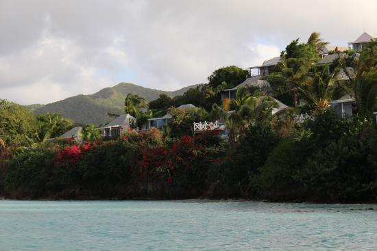 Cocobay Resort: Bungalows on the hillside