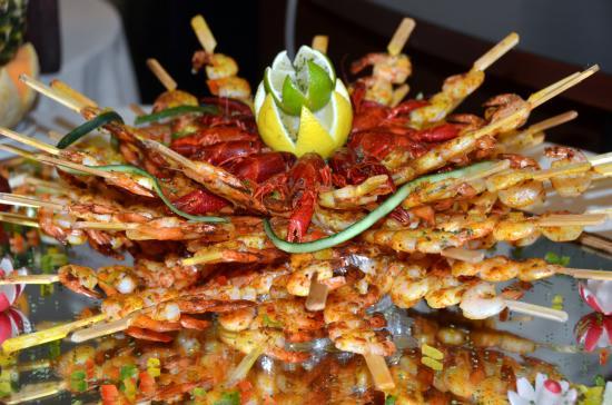 L'Amandier Restaurant : Plats froids - Formule buffet