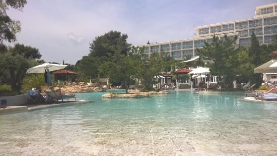 Amfora, hvar grand beach resort: Hotel´s swimming pool