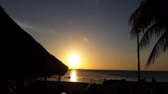 Plaza Resort Bonaire: Zonsondergang