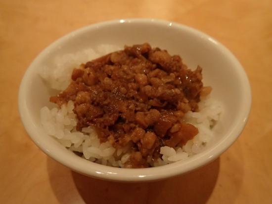 Ambassador Hotel Taipei: 朝食ビュッフェでは魯肉飯もありました