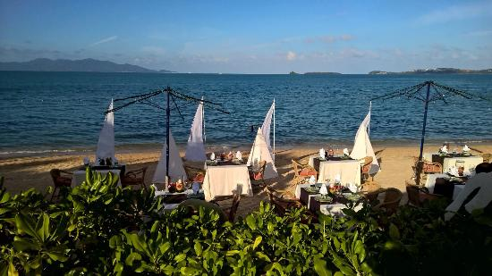 Bo Phut Resort & Spa: Preparing for the Thai feast in the evening