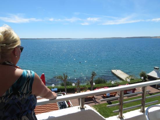 Razanac, Croatie : Blick vom Balkon
