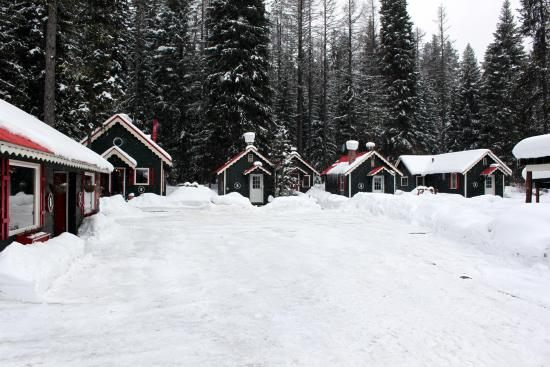 McCall, ID: Bungalows in Winter