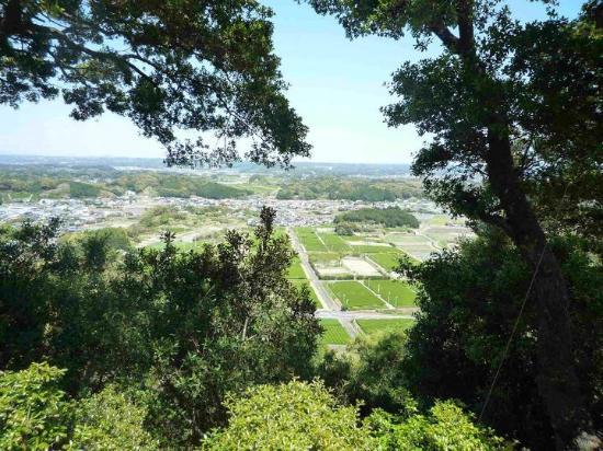 Former Takatenjin Castle Site