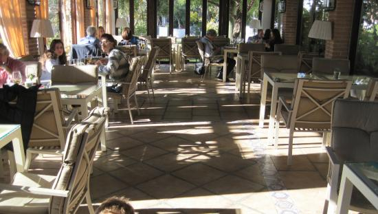 Lanjaron, Spanien: restaurante