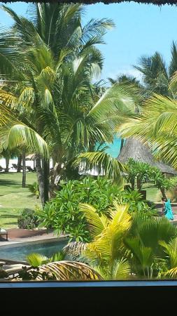 Beachcomber Dinarobin Hotel Golf & Spa: scorcio dalla stanza
