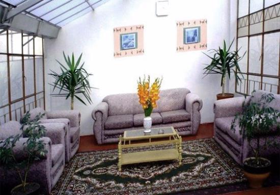 Hostal Palacio Real: Me encanto com oera su sala