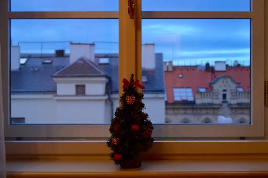 Hotel Esplanade Prague: View from room