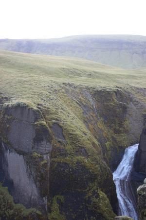 Kirkjubaejarklaustur, Island: Fjadrargljufur Canyon
