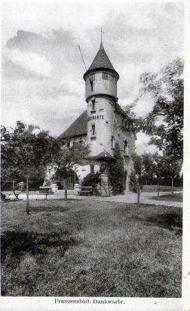 Frantiskovy Lazne, Czech Republic: REZIDENCE ZAMECEK 1916