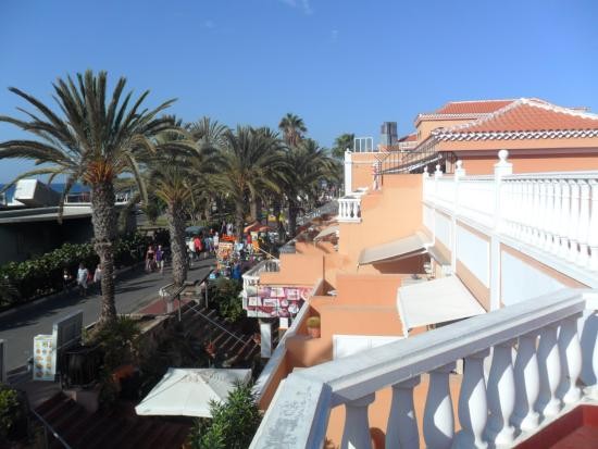 Tenerife Royal Gardens: Utzicht vanaf onze balkon
