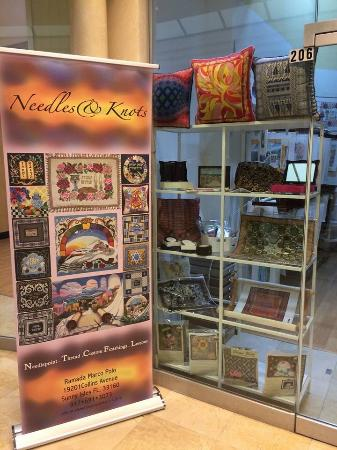 Ramada Plaza Marco Polo Beach Resort: Needles and knots 9176913073 gifts and accessories