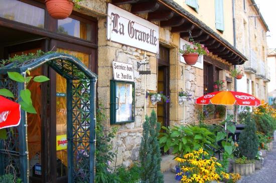 Saint-Cyprien, Frankrike: L'hôtel restaurant
