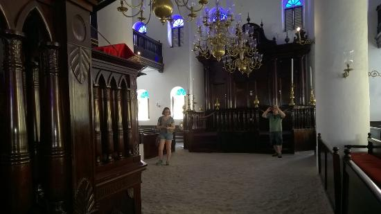 Jewish Cultural Historical Museum: Picture taken on the first floor.