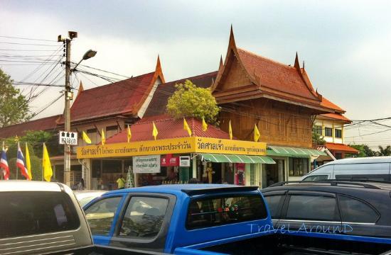 Pathum Thani, Thailandia: ทำบุญด้านนี้