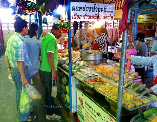 Pathum Thani, Thailandia: ร้านขนมไทย