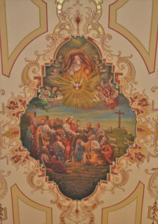 St. Louis Cathedral: Mid Ceiling Fresco