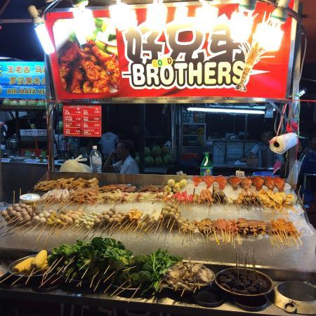 Jalan Alor Malaysian Street Food Kitchen: Food street