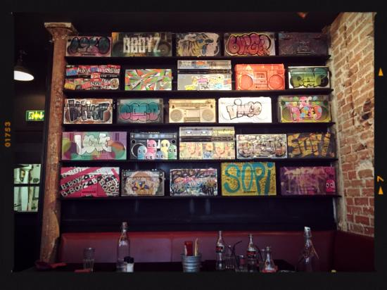 Mur Déco Street Art Picture Of B Boyz Paris Tripadvisor
