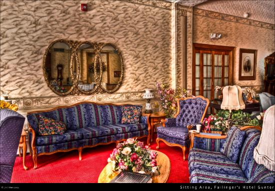 Gunter Hotel: Sitting area at the hotel