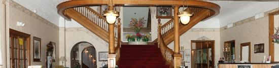 Failinger's Hotel Gunter: Stair Case in Looby