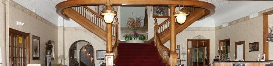Frostburg, MD: Stair Case in Looby