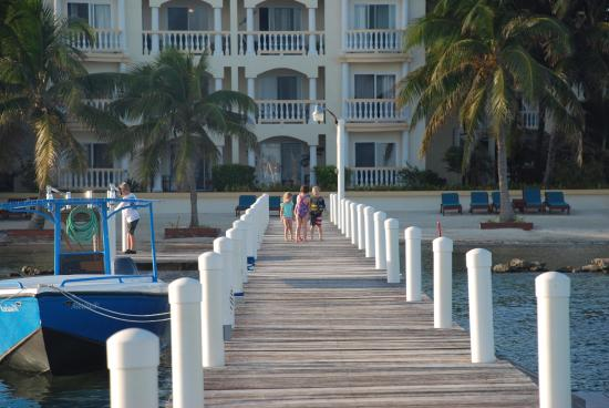 Pelican Reef Villas Resort: From the Dock