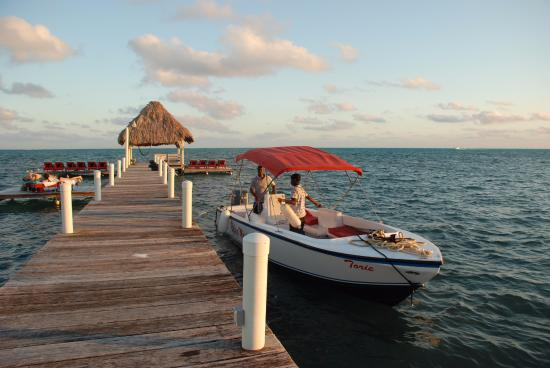 Pelican Reef Villas Resort: On the Dock