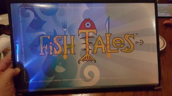 Fish Tales: MENU