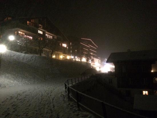 hotel eiger at night