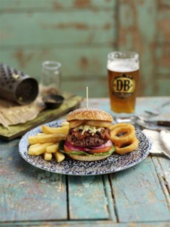 Grangemouth, UK: Texan Burger