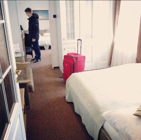 Hotel Salvator: our suite